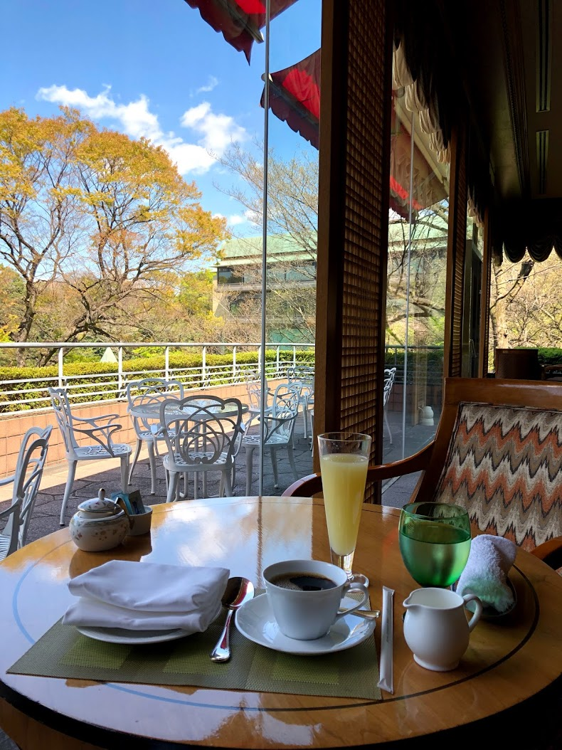 ホテル椿山荘東京 ラウンジ朝食