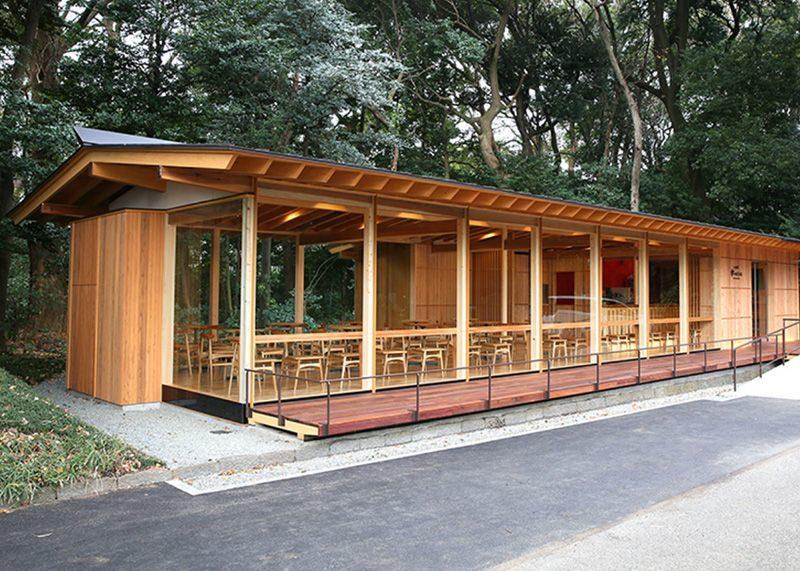 明治神宮前 杜のカフェ